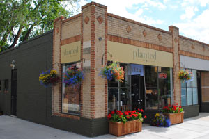the planted storefront in Denver